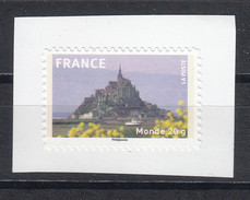 Mont Saint Michel, AUTO ADHESIF N° 334a, 2009  Neuf **   Grande Marge - KlebeBriefmarken