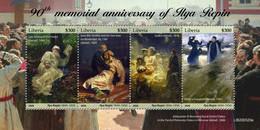 LIBERIA 2020 - I. Repin: Mermaids. Official Issue [LIB200520a] - Mythologie