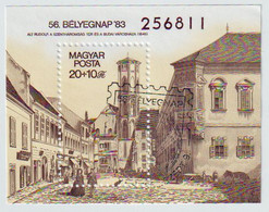 Tag Der Briefmarke  Mi Block166 A  1983 - Blocks & Sheetlets
