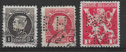 OBP212-214-680A Met Perforatie - 1921-1925 Petit Montenez