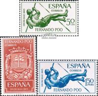 Fernando Poo 241-243 (kompl.Ausg.) Postfrisch 1965 Tag Der Briefmarke - Fernando Poo