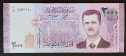 Syria 2018 Banknote 2000 Pounds UNC - Syria