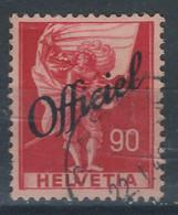 EEE-/-641-. YVERT N° 198 - ZUMSTEIN - TIMB. ADM.  OFFICIEL,  N° 59, OBL., COTE 3.00 €,  VERSO SUR DEMANDE - Officials