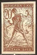 1919 - Verigari 20 Vinara Nezupcena  MNH - Serbia