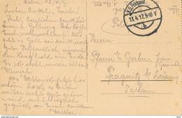 Feldpost 13.04.1917 - Armada Alemana