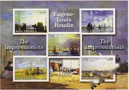 ERITREA 2002-IMPRESSIONIST BOUDIN - Eritrea
