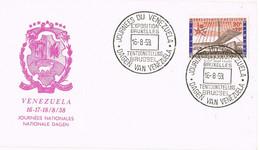 39536. Carta BRUXELLES (Belgien) 1959, EXPO Bruxelles, Dagen Van VENEZUELA - Cartas