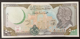 Syria 1998 Banknote 500 Pounds UNC - Syria