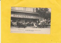 CPA 84 LE MONT-VENTOUX STE COLOMBE CAFE HOTEL GUINTRAND GROSSE ANIMATION - Zonder Classificatie