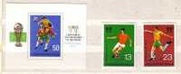 1978  Football World Cup   2v.+S/S-MNH  Bulgaria/ Bulgarie - Nuevos