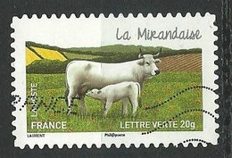 FRANCE  /  N ° 957  / YT - 2014  / Oblitéré - Adhesive Stamps