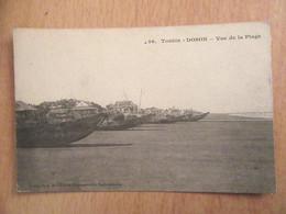Indochine / Tonkin N°56 - DOSON - Vue De La Plage (bâteaux) - Carte Non-circulée - Vietnam