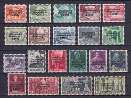 SWITZERLAND 1948, Mi# 6-25, CV €320, Architecture, MH - Unused Stamps