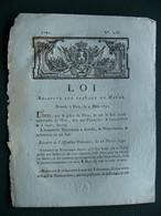 1791 Loi Relative Aux Travaux Du HAVRE  ( LE HAVRE ) - Décrets & Lois