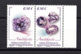 TAAF Yvert N° 919/20 Améthystes - Neufs