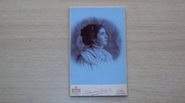 FOTO FOTOGRAFIA CARTONATA FINE 800 PRIMI 900 FOTOGRAFO HOFFMANN ECKERL GORZ GORIZIA FORMATO PICCOLO - Ancianas (antes De 1900)