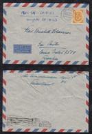 BRD Bund 1953 Posthorn 70Pf EF Luftpost Brief AHAUS Nach SAO PAULO Brasilien Brazil - Cartas