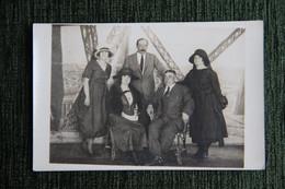 Carte Photographie D'une Famille. - Fotografie
