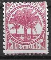 Samoa Mh * 1886  2,2 Euros - Samoa