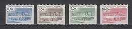 (S2111) FINLAND, 1981 (Bus Parcels Stamps). Complete Set. Mi ## BP14-BP17. MNH** - Colis Par Autobus