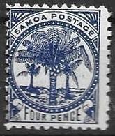 Samoa Mh * 1886  1,8 Euros - Samoa