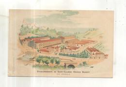 Etablissement De Saint Galmier, Source Badoit, Vue Générale - Werbepostkarten