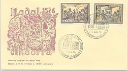 ANDORRA - FDC NADAL  1976 - 7.12.76    /1 - Cartas