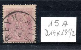ISLANDE / N° 15 (A) Oblitéré - Used Stamps