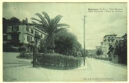 64 - B56344CPA - HENDAYE - Villa MARTINET, Hotel Bidassoa, Route De La Plage - Très Bon état - PYRENEES-ATLANTIQUES - Hendaye