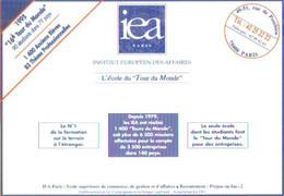 """Carte Postale édition """"Promocartes"""" - IEA Paris (Institut Europée Des Affaires) L'école Du """"Tour Du Monde"""" - Werbepostkarten"""