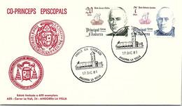 ANDORRA - FDC CO-PRINCEPS EPISCOPALS  - 17.12.81 /1 - Cartas