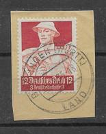 Deutsches Reich 1934 Mi.Nr. 560 Gestempelt Auf Papier - Usados