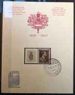 België 1937, Herdenkingskaart Leuven - Zeldzaam! - Cartas Commemorativas