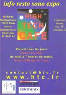 """Carte Postale édition """"Promocartes"""" - High Tech Café (info, Resto, Sono, Expo) - Werbepostkarten"""