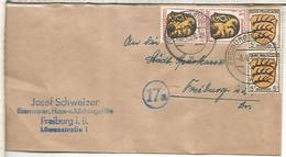 ALEMANIA OCUPACION FRANCESA FREIBURG 1946 - Zona Francesa