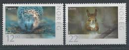 Norvège 2007 N°1545/1546 Neufs** Animaux: Hérisson Et écureuil - Neufs