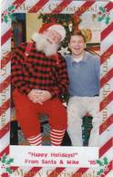 US, Private Christmas FotoTelecard From  Santa & Mike, Christmas '95, RRR - Other