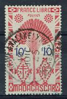 Madagascar, 10f, Série De Londres, 1943, Obl, TB Superbe Cachet Tananarive Analakely - Oblitérés