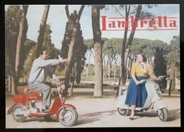 Lambretta Scooter Carte Postale - Werbepostkarten