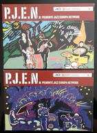 Piemonte Jazz Europa Networklot De 2 Carte Postale - Werbepostkarten