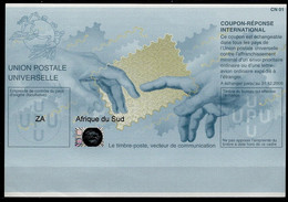 SOUTH AFRICA / AFRIQUE DU SUD  Pe32 20070622 HB International Reply Coupon Reponse IAS IRC Antwortschein Hologram Mint** - Cartas
