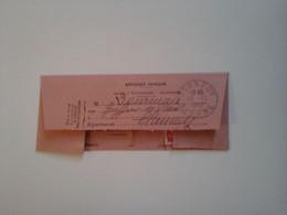TELEGRAMME ENREGISTRE AU BUREAU DE CLAMECY NIEVRE (58) POUR DORNECY 1950 - Non Classés
