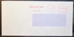 Belgium - Advertising Meter Franking Cover EMA 1992 Marchin Duchêne - 1980-99