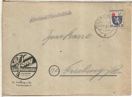 ALEMANIA OCUPACION FRANCESA FREIBURG 1947 - Zona Francesa