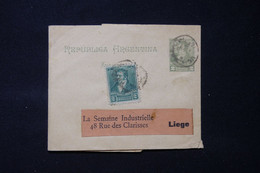 ARGENTINE - Entier Postal ( Pour Imprimés ) + Complément Pour La Belgique - L 89962 - Entiers Postaux