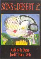 "Carte Postale édition ""Promocartes"" - Sons Of The Desert - Café De La Danse - Illustration : Tony Shiels - Werbepostkarten"