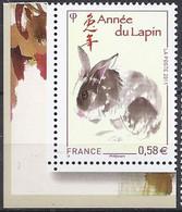 Francia/France/Frankreich 2011 - 2013 Capodanno Cinese / Chinesisches Neujahr - Unused Stamps