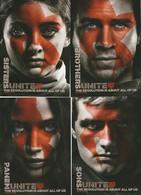 4 Coca-cola The Hunger Games Postkaarten Postcards Carte Postale - Werbepostkarten