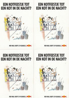 4 Red Bull Postkaarten Postcards Carte Postale - Werbepostkarten