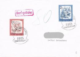 Österreich Brief Mit Stempel Sondertarif Und Nachgebühr - 1971-80 Cartas